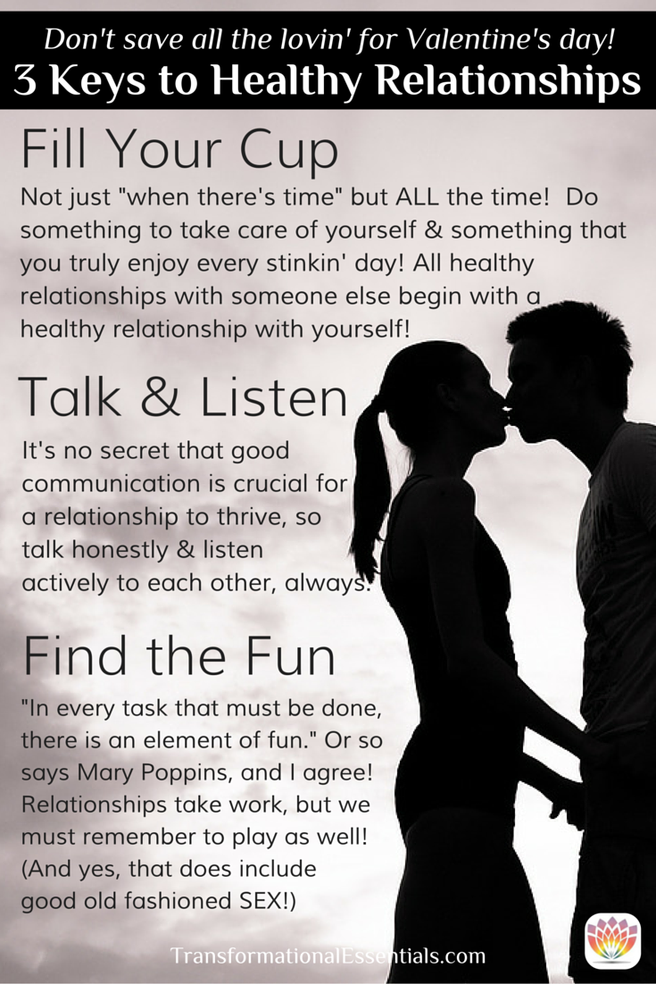 3 Keys to Healthy Relationships from Dr  Marissa