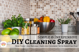 DIY Cleaning Spray with Essential Oils