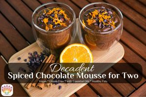Decadent Chocolate Mousse for Two