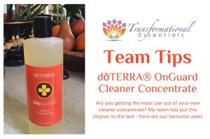 Top Uses for dōTERRA® OnGuard Cleaner Concentrate