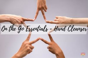Essentials on the Go - DIY Essential Oil Hand Cleanser